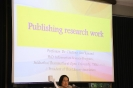 Writing Research Articles and Publishing them in National and International Journals